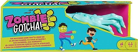 Mattel Games Zombie Gotcha Juego de mesa con cartas de zombies ...