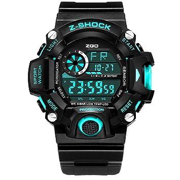 Kid Watch 50M Impermeable Deportivo LED Cronómetro Alarma Reloj Digital Niño Cuarzo Reloj De Pulsera Para