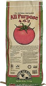 Down To Earth Organic All Purpose Fertilizer Mix 4-6-2, 25 lb