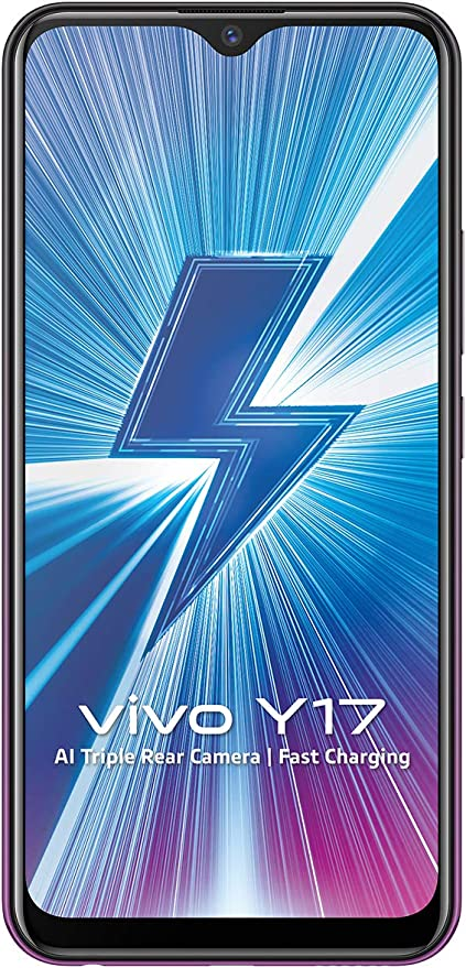 Vivo Y17 (Mystic Purple, 4GB RAM, 128GB Storage) with No Cost EMI/Additional Exchange Offers