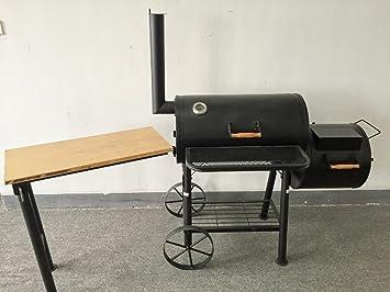 ABD) Texas - kiug® de XXL Ahumador con mesa auxiliar ...