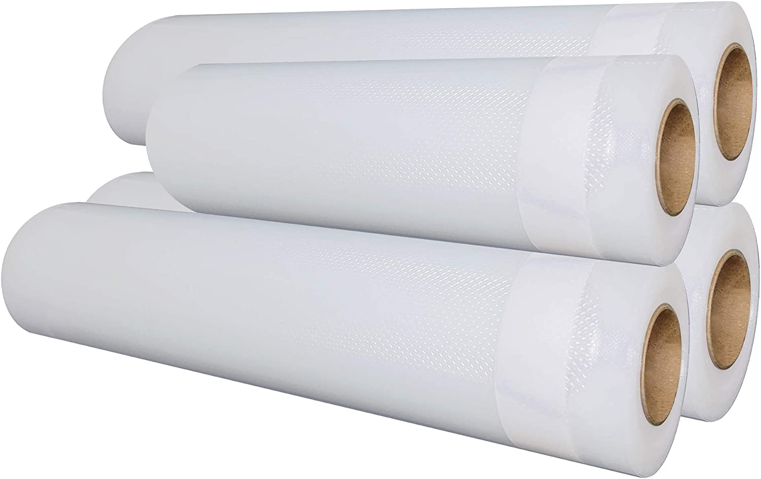 "Value 4 Pack Vacuum Sealer Bag Rolls 11"" x 50' (3 Rolls) and 8"" x 50' (1 Roll), Total 200 Feet"