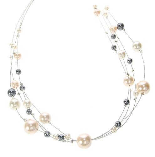 vari colori e0f57 914f8 behave Collana di perle a più fili - Collana di perle ...