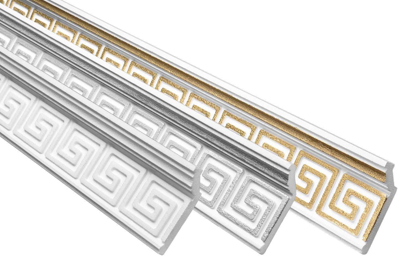 Stuckprofil gold 28x73mm Marbet 10 Meter EPS B-21 formfest