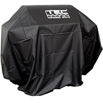 Tec Vinyl Grill Cover For Patio And Sterling Ii   On Cart With Two Side  Shelves