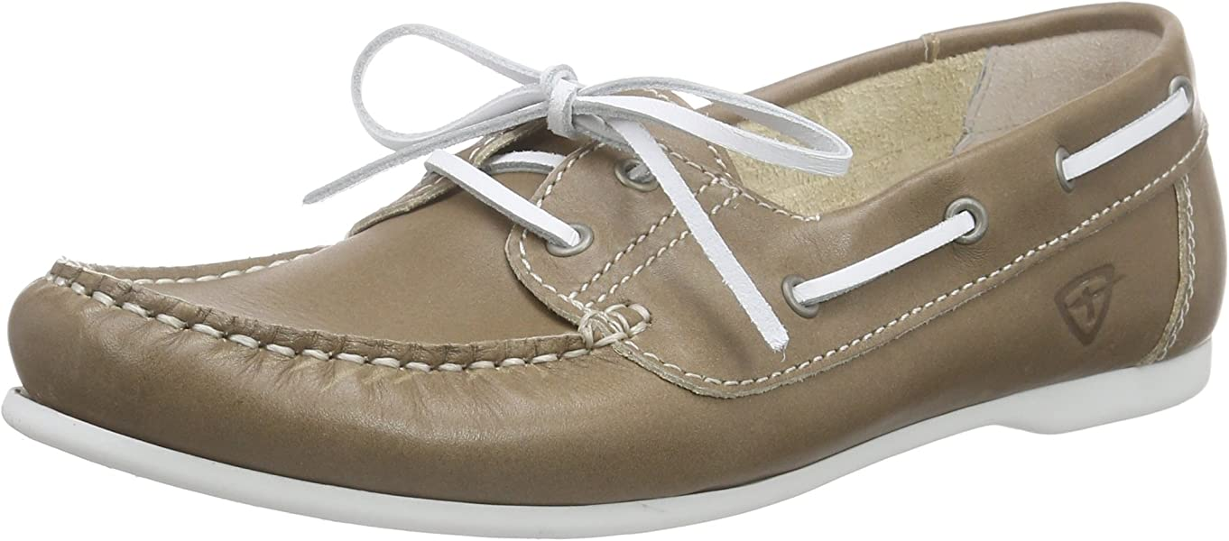 Tamaris 23618 Chaussures Bateau Femme, Beige (Taupe 341), 36