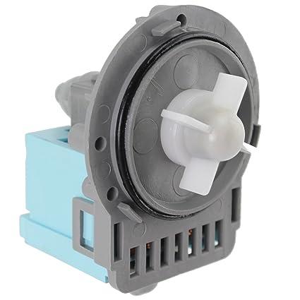 Spares2go - Bomba de desagüe para lavadora Whirlpool (Askoll M114 ...