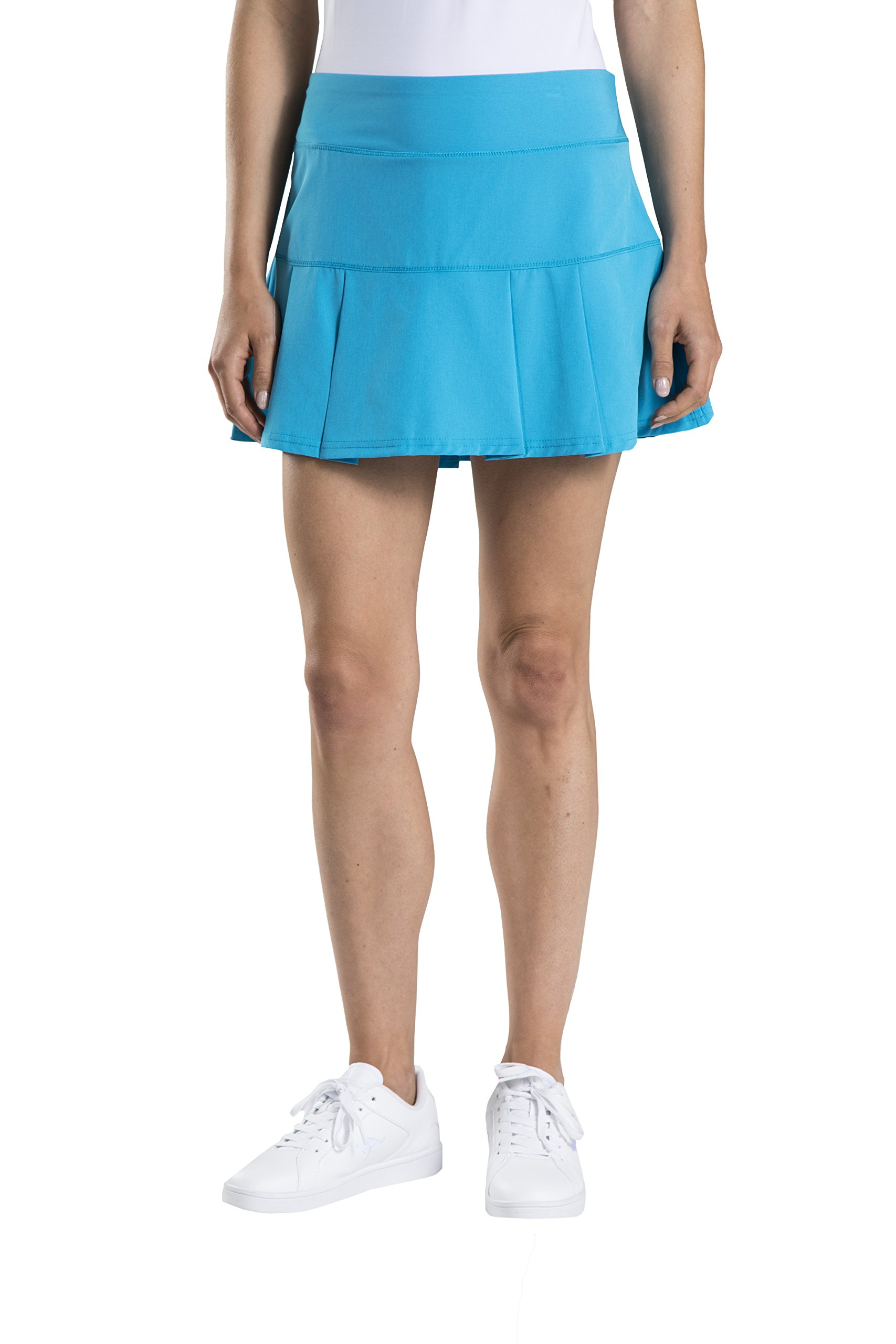Prince Women's Stretch Woven Athletic Skort, Atomic Blue, S