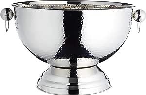 KitchenCraft BarCraft Metal Champagne Cooler/Punch Bowl, 37 x 25 cm
