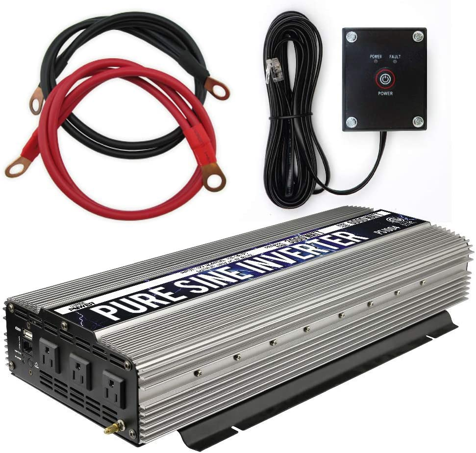 Best Power Inverter Combo For Camping