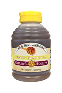 Nature's Hollow, Sugar-Free Honey Substitute 14 Ounce, Non GMO, Keto Friendly, Gluten Free - 1 Pack