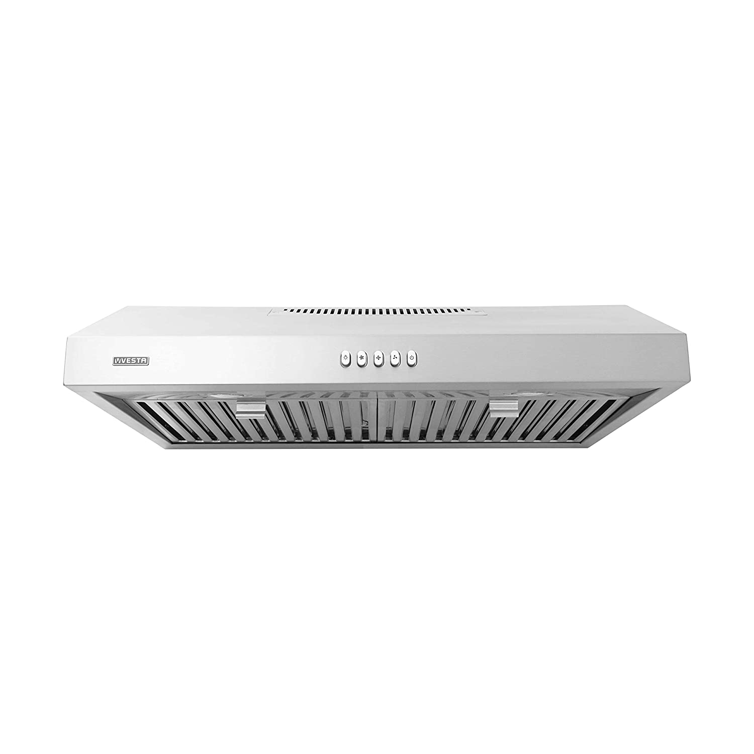 VESTA 860CFM 30 Stainless Steel Under Cabinet Range Hood 6 Speeds With Touch Screen Hard Wire