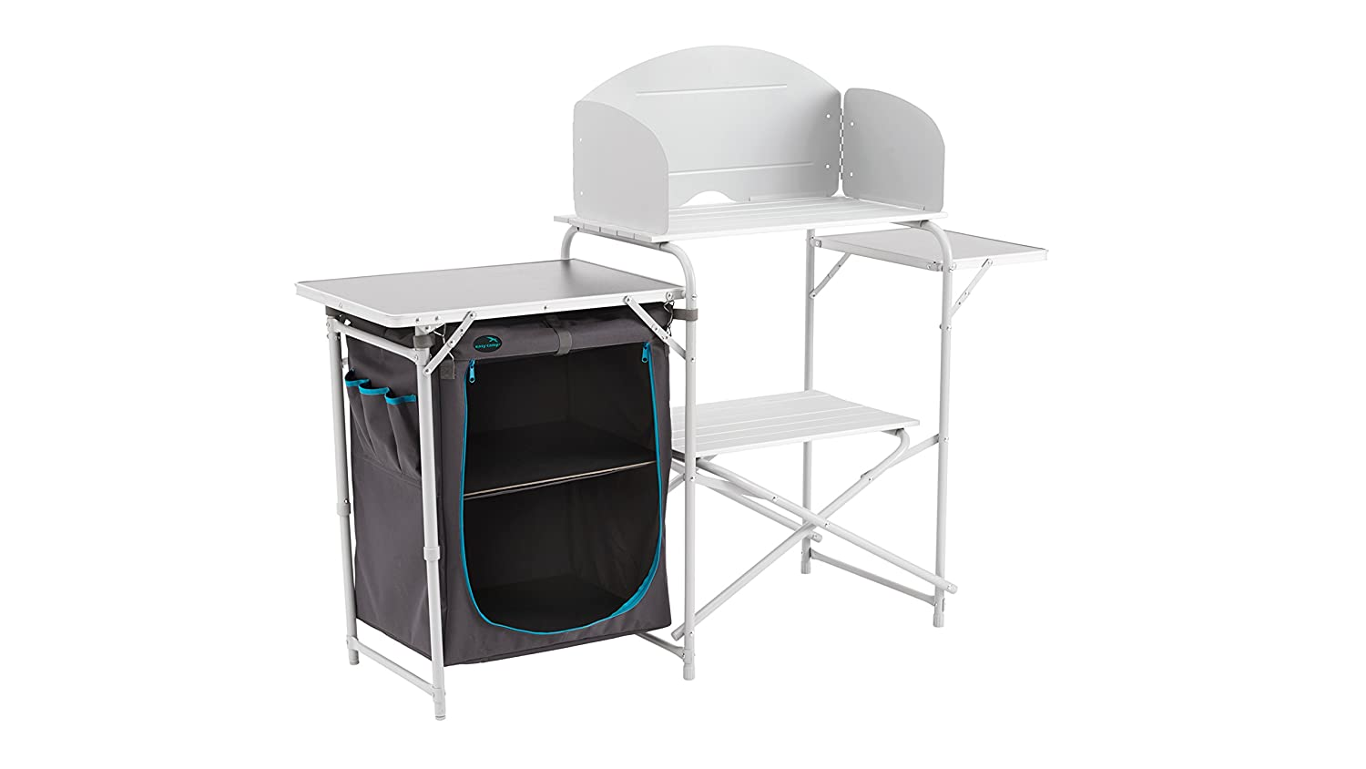 Easy Camp 480037 Sarin Kitchen Table - Grey/Silver, One Size