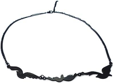 Collar Cuervo - Tatuaje - Divergente: Amazon.es: Joyería