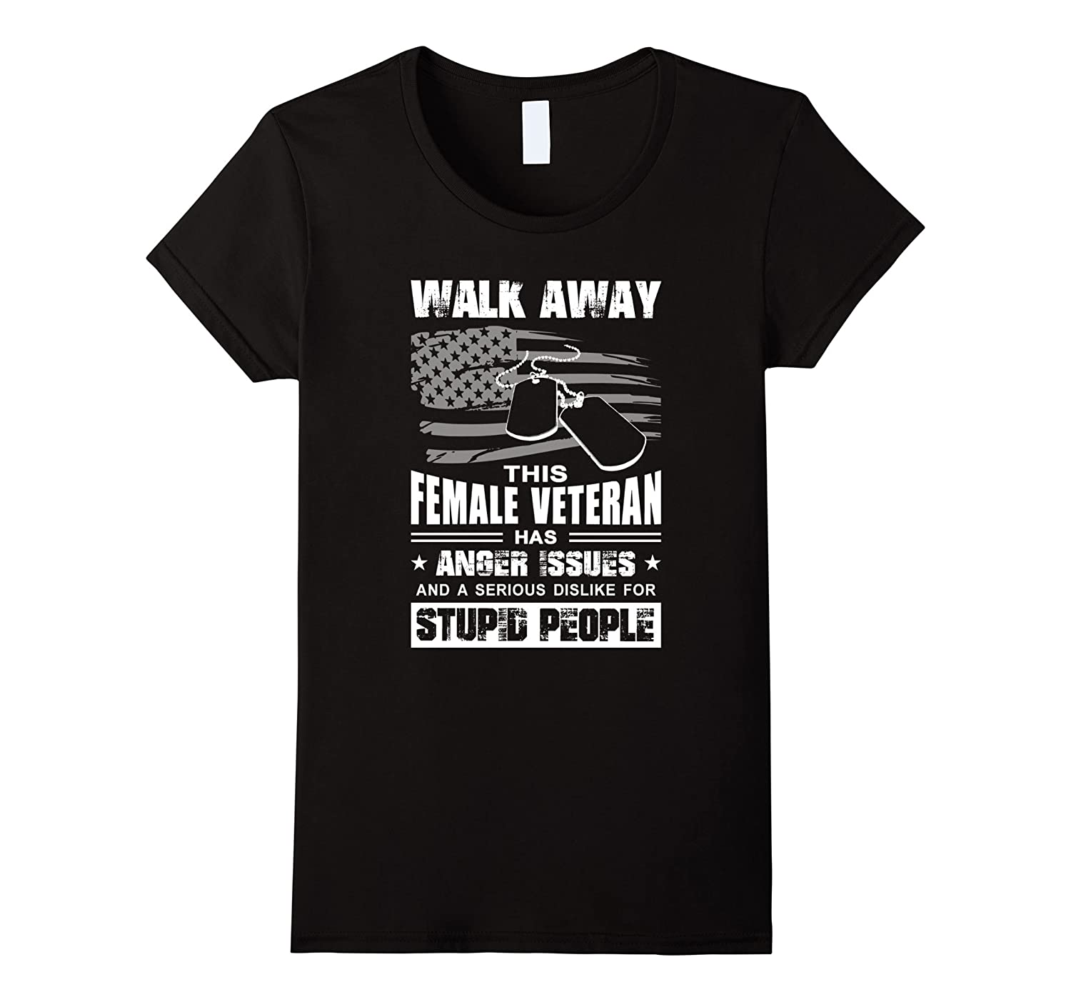 Walk Away This Female Veteran Has Anger Issues And A Serious