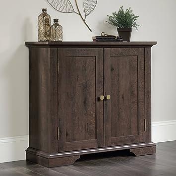 Amazon.com: Sauder New Grange Storage Cabinet -: Home & Kitchen