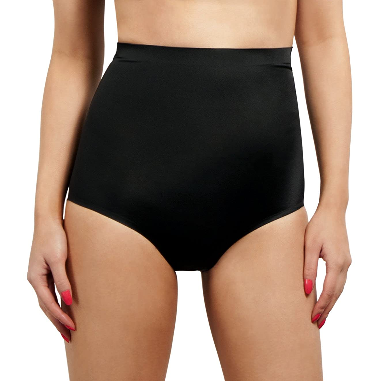 SodaCoda Women Shapewear - Butt Enhancer Inbuild Push-Up Foam Padded Panties with Waist Cincher Band