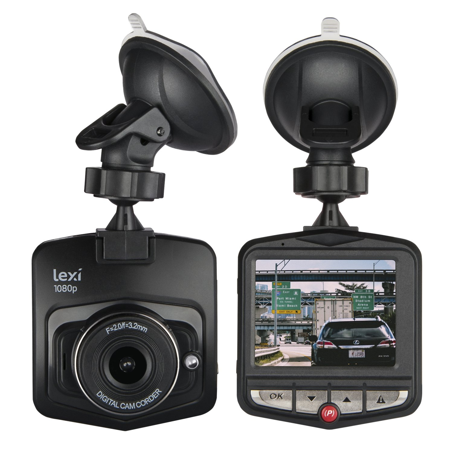 1080P HD Dash Cam. In Car Dash Camera; Dashcam for Cars Front with LED for Night Vision, Parking Monitor, Motion Detection, G Sensor & Loop Recording Philex Electronic Ltd PI00499/14