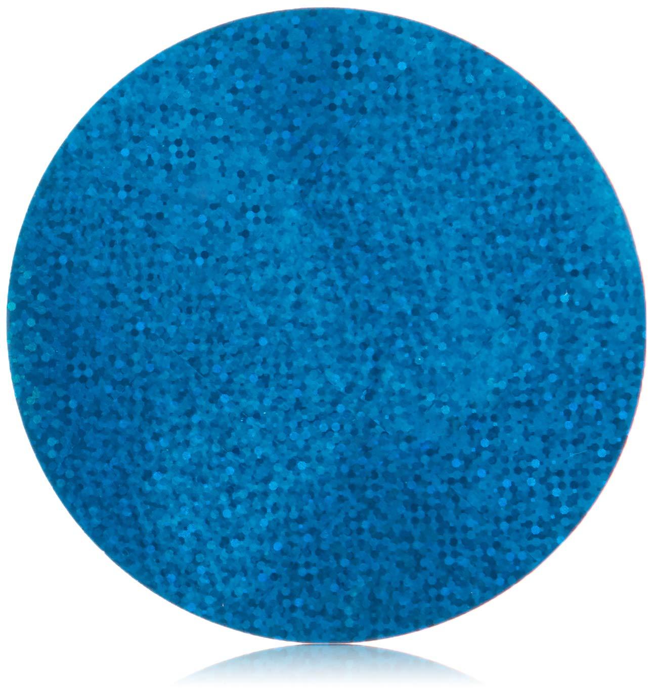 Mettoo Blue Holographic Sparkle Body Foil Festival Pro, 1000 Count