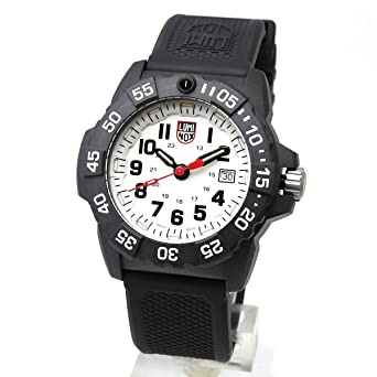 91ab9c8c35 LUMINOX ルミノックス 3507 Navy SEAL 3500 シリーズ ホワイト WHITE 白色 BLACK ブラック 黒色 メンズ 男性用