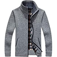 Vcansion Men's Full Zip Sweater Jacket (various colors/sizes)
