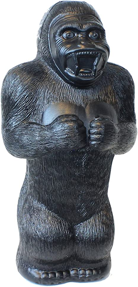 Retro Design Bank.Large Gorilla Money Bank 17 Inch Plastic Blow Mold Classic