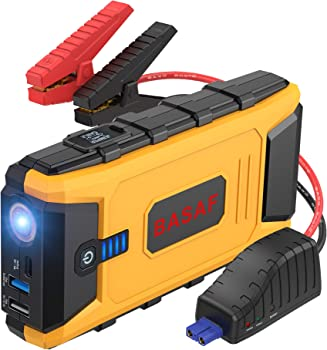 BASAF 12V Portable Battery Booster Car Jump Starter