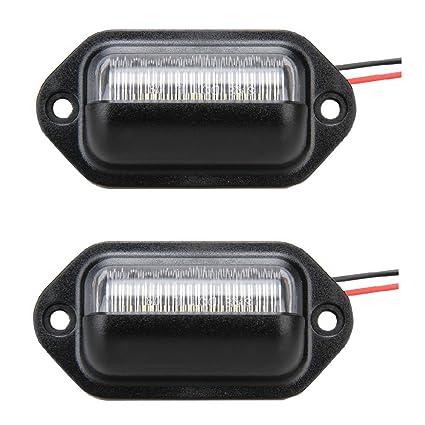 18 SMD LED Red 2-pc Set LEDRS-3157-RS18 Rear Signal LED Light Bulbs 3157 SODIAL R