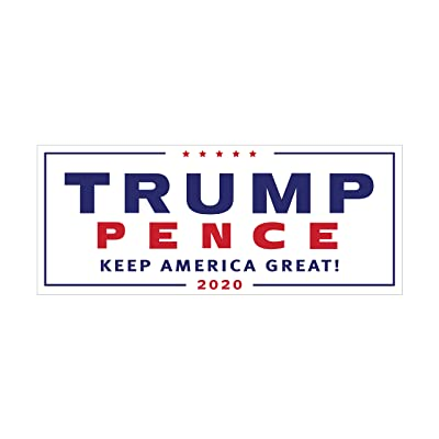 Concierge Motors Trump Pence 2020 Bumper Sticker Decal Car TruckMade in The USA: Automotive