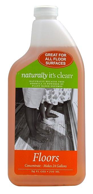 Amazon.com: Naturally it s clean limpiador de suelos, 24 ...
