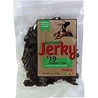 Sam's Harvest Jerky - Original Recipe, 4 oz. Bag (Pack of 4)