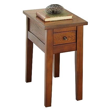 amazon com steve silver company desoto chairside end table 13 x rh amazon com