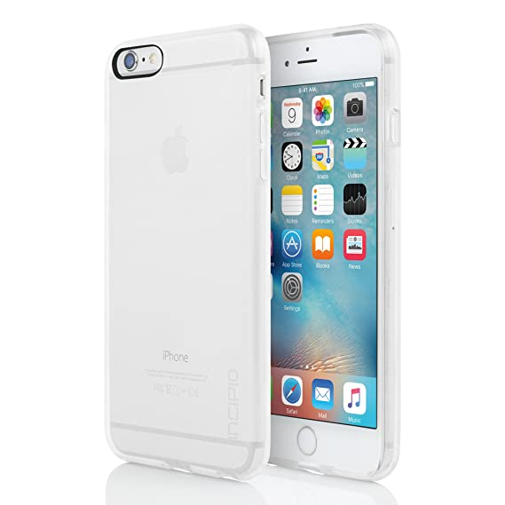 new styles abe50 fc212 Incipio iPhone 6S Case, NGP Pure Case [Flexible][Shock Absorbing] Cover  fits Both Apple iPhone 6, iPhone 6S - Clear
