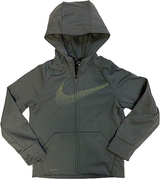 8y-15y Older Boys Hoodie NIKE Brushed Fleece Full-Zip