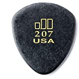 Dunlop 477P207 JD Jazztones, Black, Large Round Tip, 6/Player's Pack