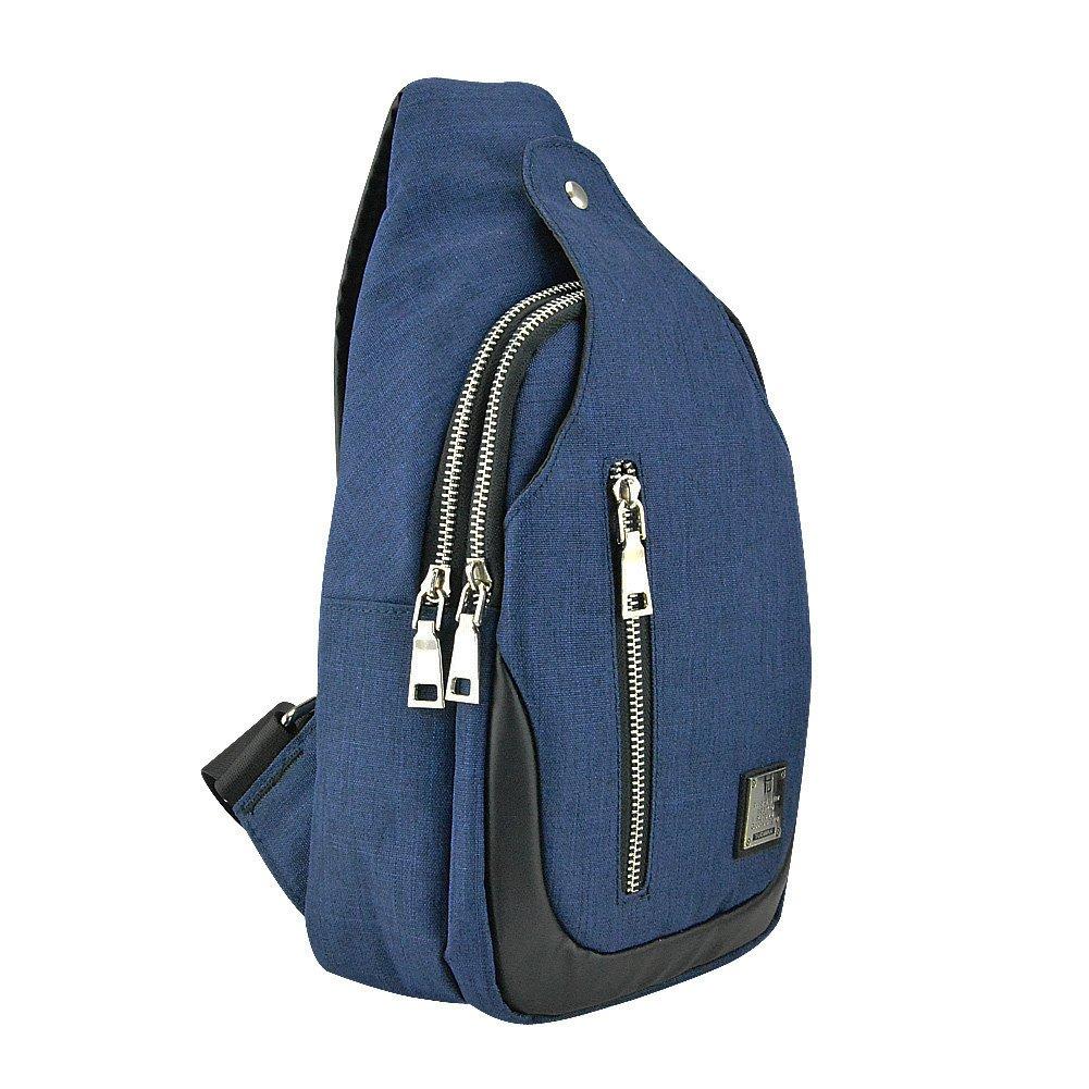 InterestPrint Good Vibes Only Mens Womens Messenger Bag Crossbody Shoulder Bags for School Traveling Black