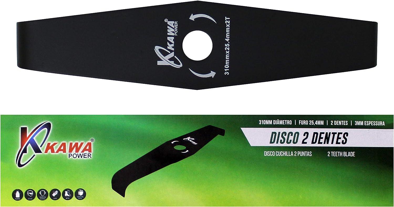 Kawapower KW079 Disco cuchilla de 2 puntas 310X3.0 para ...