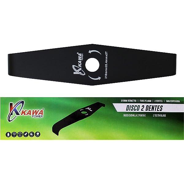 Disco de dos dientes para Desbrozadora 320mmX3mmX25,4mm ...