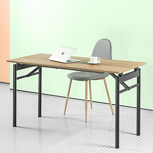 Zinus Mare Folding Desk 55 Inch Computer Workstation Table