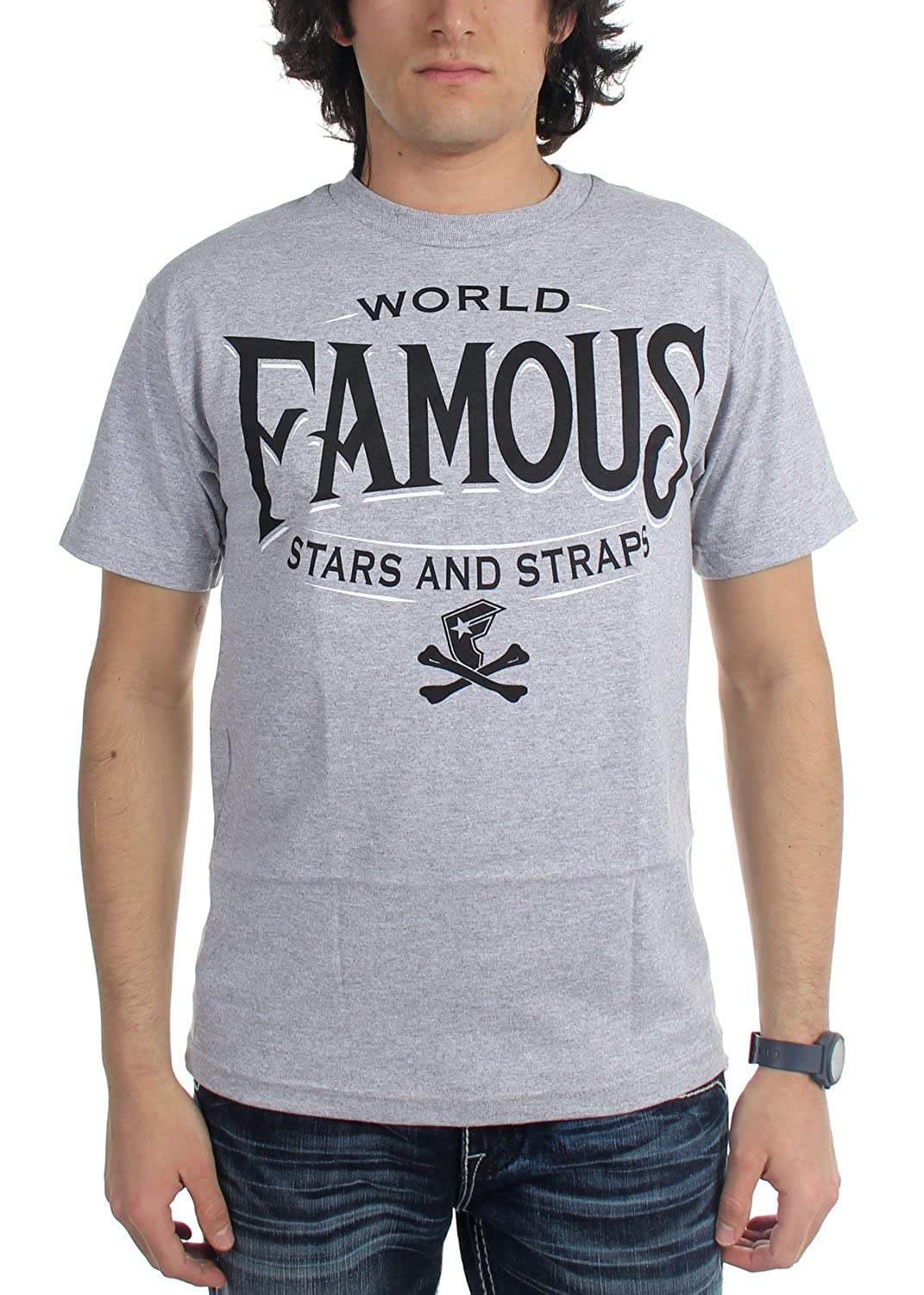 Famous Stars and Straps - Mens Classic Letters T-Shirt