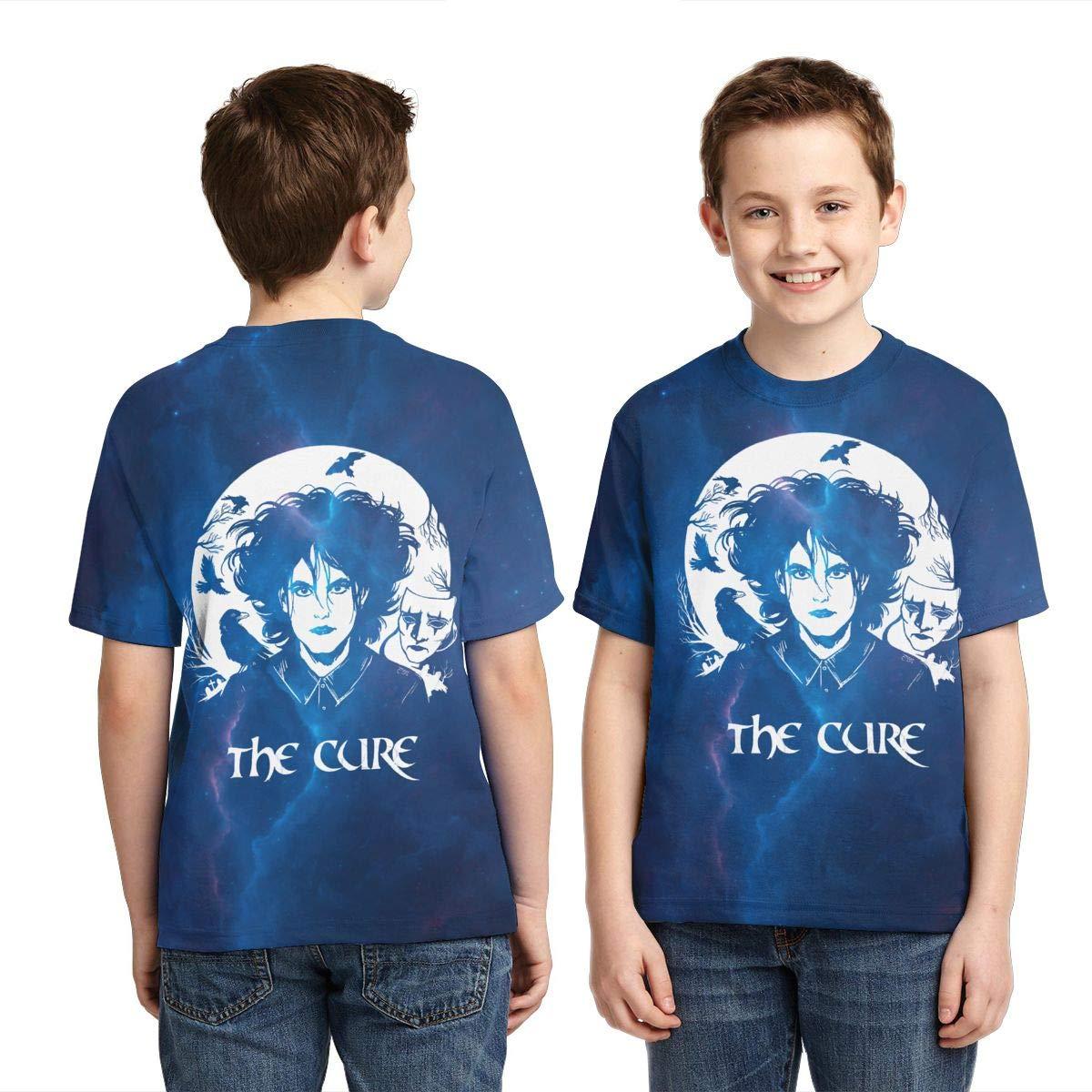 Caiyuzhuanmai Boys,Girls,Youth The Cure Tee Shirt