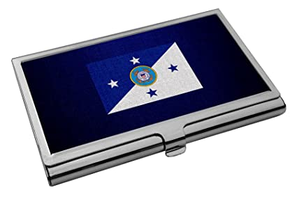 Amazon Business Card Holder Us Coast Guard Commandant Flag