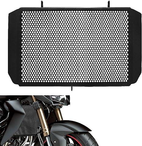 Schwarze Kühlergrillschutz Kühler Grill KAWASAKI Z800 Z-800 Z800E 2013-2016