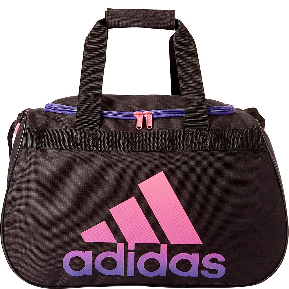 9a9503b56a02 The shoulder strap is adjustable and the webbing carry handles have a  padded wrap. The adidas brandmark is screen-printed on the side ...