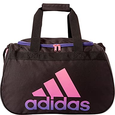 e4fce499adf Amazon.com   adidas Diablo Duffel Small (Black Solar Pink Power ...