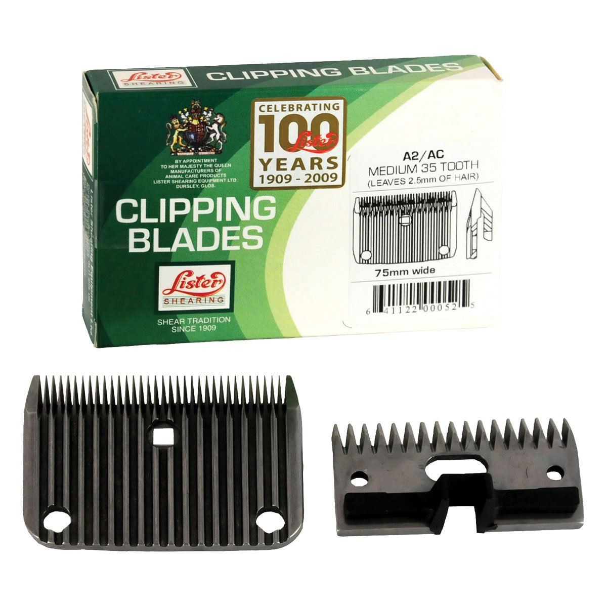 Clipper Blade For Lister Body Clippers, Fine Blade by Lister