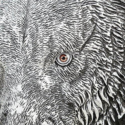 alta 3D de de 20 portátil Black animal la mochila PU de bandolera calidad del tigre 35L viaje realista cabeza mochila Hombres w5aSt0xqw