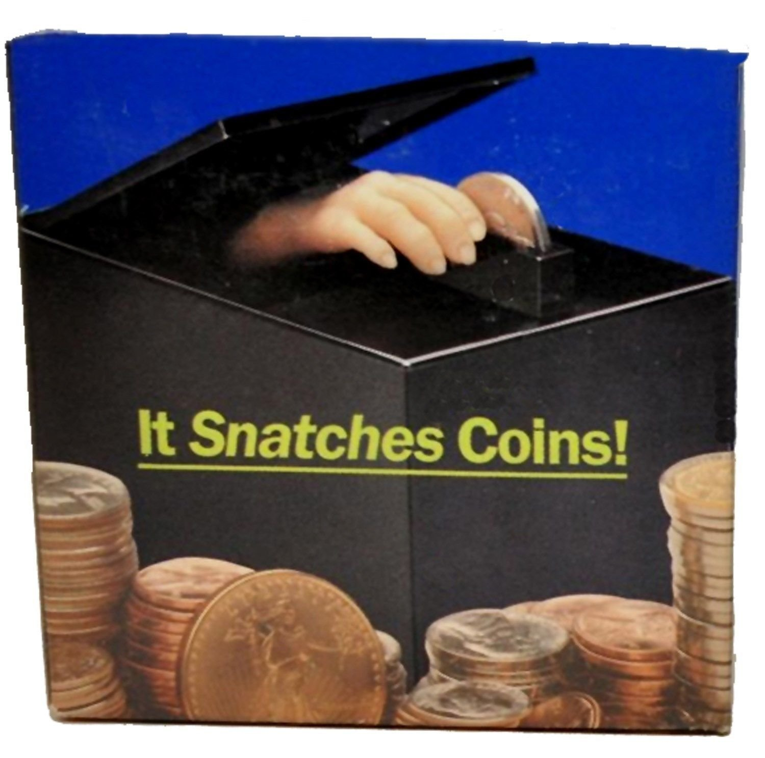 Retro Animated Coin Bank Thing Magic Hand Black Box Money Trap Collectible Toy by Rocky's Rocket by Rocky's Rocket (Image #3)