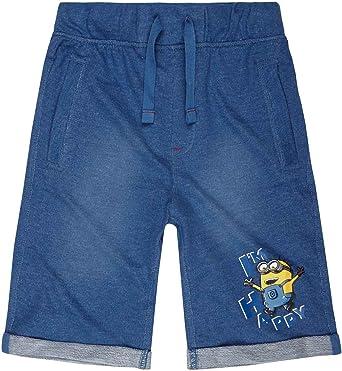 blau Minions Despicable Me Jungen Bermuda 2016 Kollektion