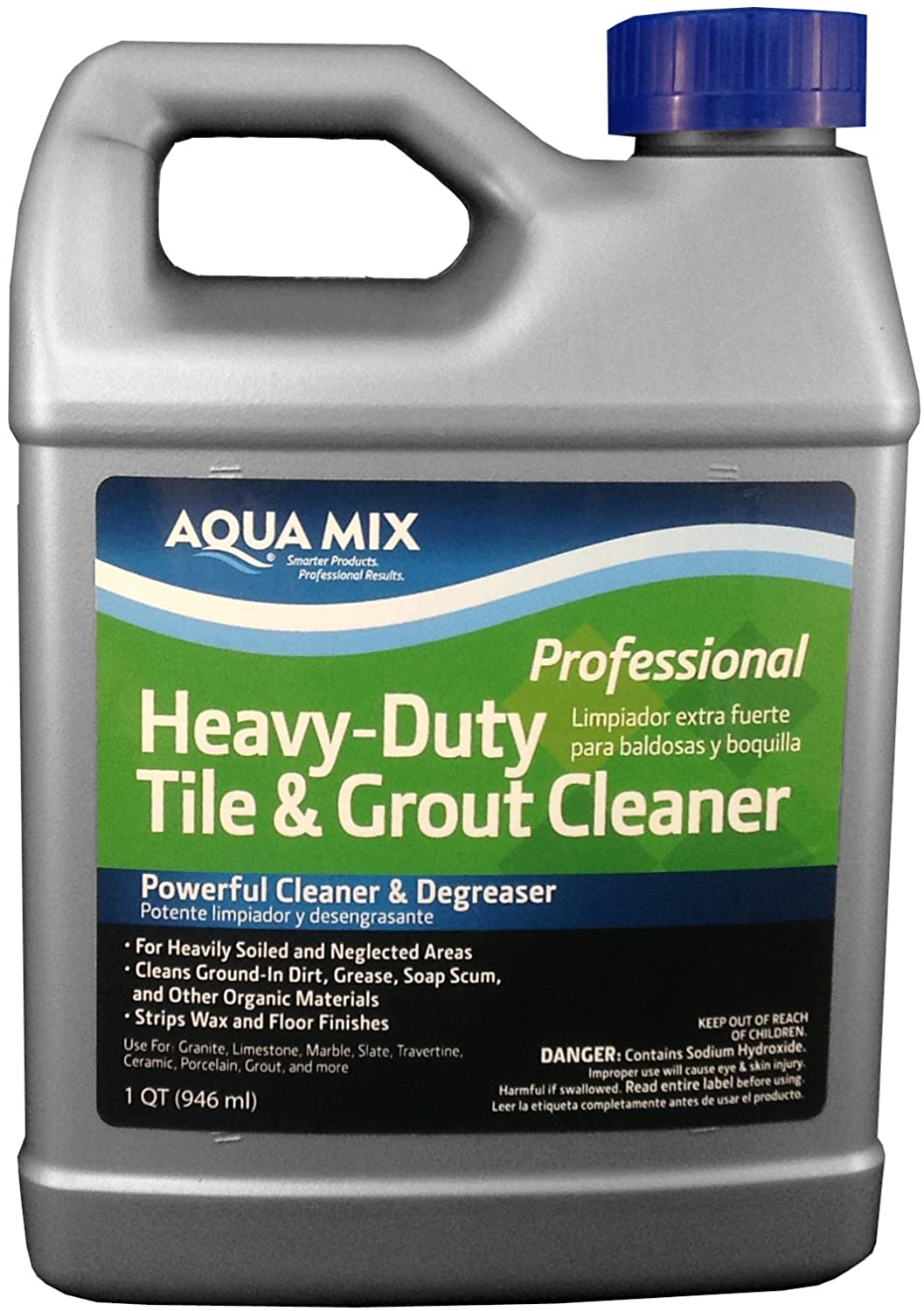 Aqua mix heavy duty tile and grout cleaner quart floor cleaners aqua mix heavy duty tile and grout cleaner quart floor cleaners amazon dailygadgetfo Gallery
